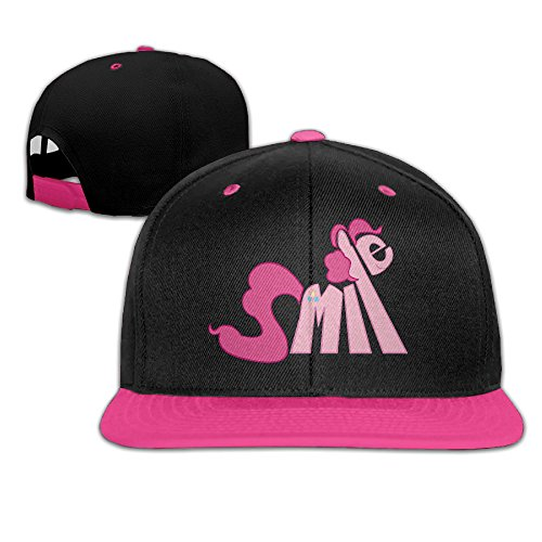 Cool Pink Smile Pony Pinkie Pie Adjustable Hip-hop Baseball Cap (Fordham Party City)