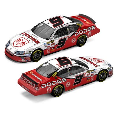 - Kasey Kahne #9 Dodge Dealers / 2007 Dodge Charger / 1:64 Scale Drivers Select Diecast Car