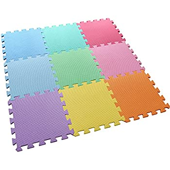 Amazon Com Angels 20 Xlarge Foam Mats Toy Ideal Gift