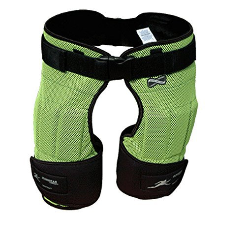 Ironwear Speed Pants Weighted Pants (Chaps) Neon Mesh Breathable Made in USa SP9 by Ironwear