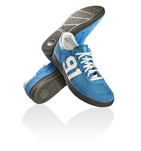 Goalkeeping Sticks - Salming NinetyOne Shoe Indoor Shoes Handball Trainers Goalkeeper different colors, EU Shoe Size:EUR 42, Color:blue