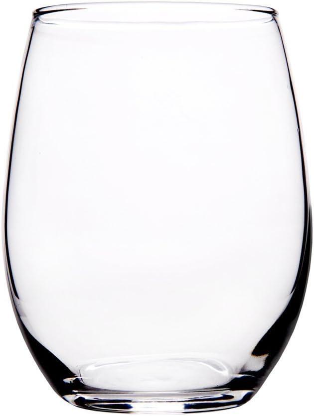 Home Essentials 21oz Stemless Wine Glass Set of 4