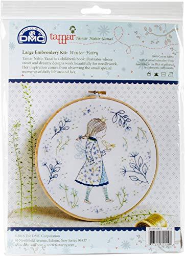 DMC Tamar Embroidery Kit Lg Winter Fairy TamarEmbroidryKitLgWinterFairy for $<!--$10.87-->