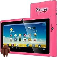 Zeepad 7DRK-Q 4 GB Tablet - 7 - Wireless LAN - Allwinner Cortex A7 A33 1.80 GHz - Pink - 512 MB RAM - Android 4.4 KitKat - Slate - 800 x 480 Multi-touch Screen Display - Bluetooth - 7DRK-Q-PINK