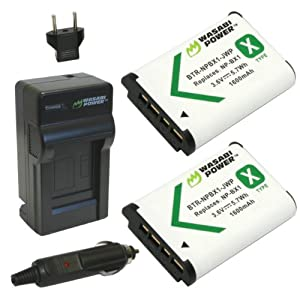 Wasabi Power Battery and Charger for Sony NP-BX1