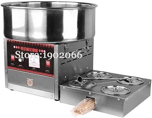 Eléctrica algodón de azúcar Máquina de algodón de azúcar de la ...