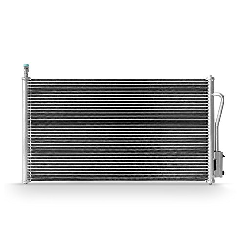 (For A/C AC Aluminum Condenser 7-4938 Replacement For 2000 2001 2002 2003 2004 2005 Ford Focus)