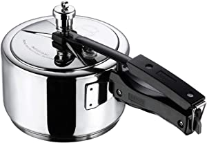 Vinod 3L Stainless Steel Inner Lid Sandwich Bottom Pressure Cooker, 3-Liter