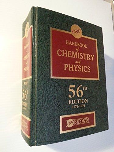 Crc Handbook of Chemistry and Physics 55ED
