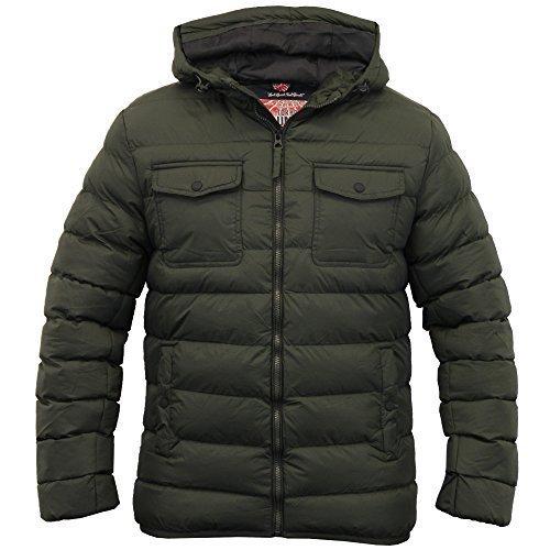 Men's Tokyo Laundry Jacket 1J8229 Khaki UK X Large/US Large