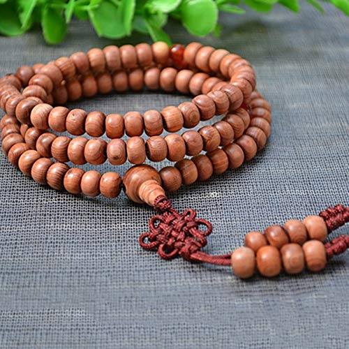 Natural Bracelets | Buddha Beads Manual Polished Smooth Pattern Rosary Hand String Jewelry