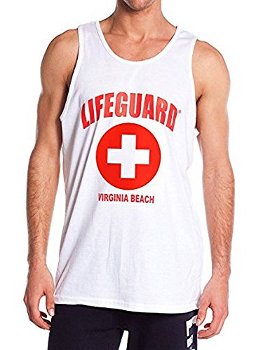 LIFEGUARD Official Licensed Mens Muscle Tank Tee