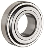 Timken 202KLL3 Extra Width Inner Ring Bearing, Double Sealed, No Snap Ring, Metric, 16 mm Bore, 35 mm OD, 14.40 mm Width, 830 lbs Static Load Capacity, 1930 lbs Dynamic Load Capacity