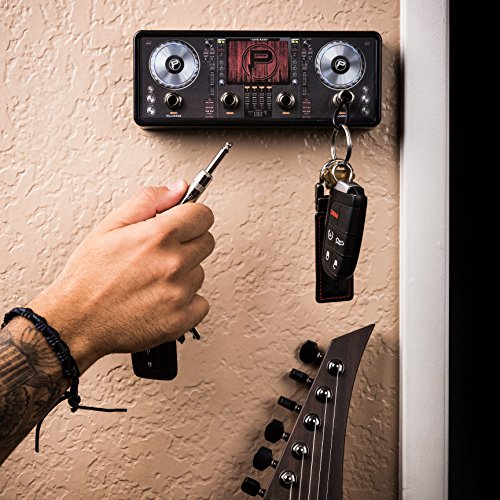y Holder | Hang Your Keys Like A Rockstar | By Pluginz Key Chains (Equalizer & 4 Key Rings) (Jack Rack)