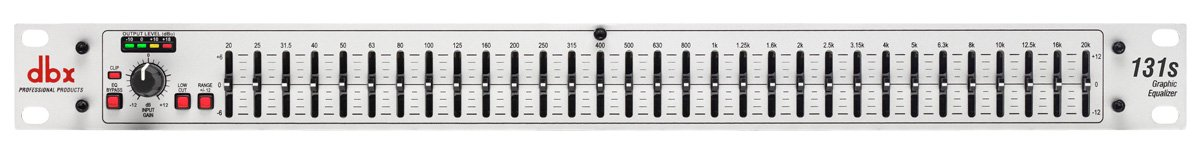 dbx 131s Single Channel 31-Band Equalizer