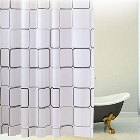 Sea Shell Star Fish PEVA Bathroom Shower Curtain 1.8m x 1.8m