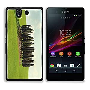 Green Trees Grass Land Blue Sky Daluwanjia Sony Xperia Z1 5.0 Snap Cover Premium Aluminum Case Customized Made to Order