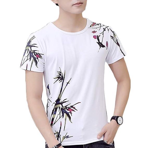 Amazon.com: TRENTON Mogen886 Camiseta de manga corta para ...