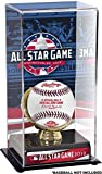Sports Memorabilia 2018 MLB All-Star Game Gold Glove Display Case with Image - Baseball Free Standing Display Cases
