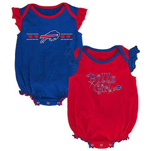Buffalo Combo - Outerstuff NFL NFL Buffalo Bills Newborn & Infant Homecoming Bodysuit Combo Pack Royal, 12 Months