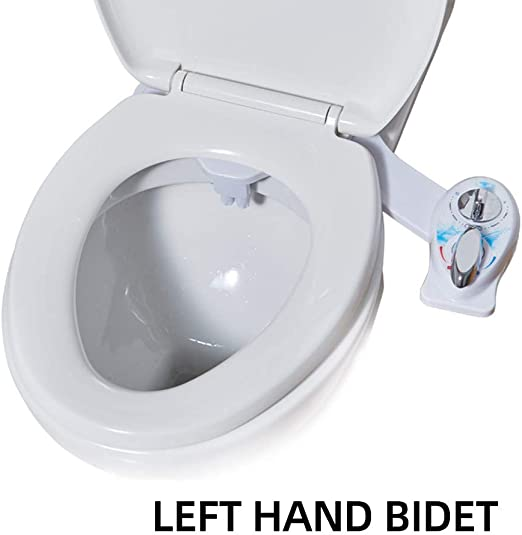 Amazon Com Bidet Attachment For Toilet Bidet Attachment Hot And Cold With Self Cleaning Dual Nozzle Water Pressure Control Non Electric Mechanica Toilet Bidet For Hygienic Personal Care Left Hand Bidet Kitchen Dining