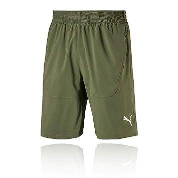 746dee2310 Puma Men's Energy Woven 9` Short Training: Amazon.co.uk: Sports ...