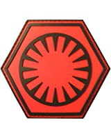 Star Wars First Order Force Awakens PVC Rubber 3D Velcro Patch
