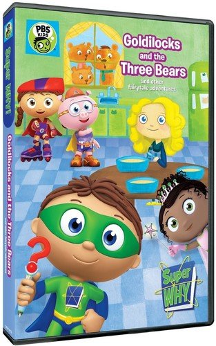 Super WHY!: Goldilocks and The Three Bears and Other Fairytale Adventures DVD -