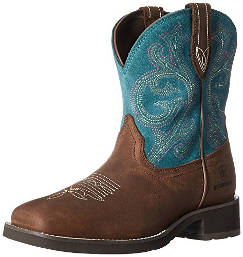 - Ariat Women's Shasta H2O Work Boot, Baked Brown, 8 B US