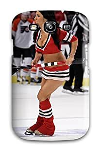 WlYHbQb7905phfGb Case Cover, Fashionable Galaxy S3 Case - Chicago Blackhawks Cheerleader