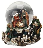 Christmas Snow Globe or Waterball Holy Family & Shepherds