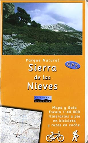 Mapa p.n. Sierra de las Nieves (gps) 1:40000: 9788493346133: Amazon.com: Books