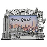 new york frame - Zizo New York Picture Frame -Poly Silver, New York Picture Frames, New York Souvenirs …