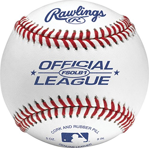 (Rawlings Flat Seam Official League Baseballs, 12 Count )