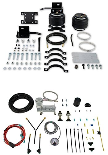 Airlift 57205/25856 Set of Load Lifter 5000 Series w/Dual Path On-Board Air Compressor System Kit for ()