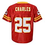 Outerstuff Jamaal Charles NFL Kansas City Chiefs Replica Home Jersey Infant Toddler (2T-4T)