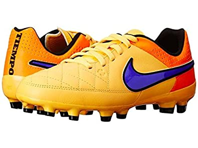 new product f63ff 8d89d Nike ナイキ Nike Kids Jr Tiempo Genio Leather Firm Ground Soccer (Toddler Little  Kid