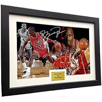 e8d8b742a01b0f Michael Jordan 12x8 A4 Signed
