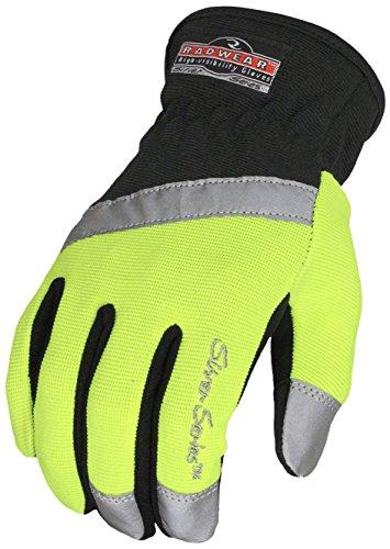 Gloves Purpose All (Radians RWG100XL Radwear Silver Series All Purpose Synthetic Hi-Viz Utility Glove, X-Large)