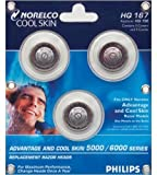 Norelco Hq167 Advantage Replacement Razors Head Review