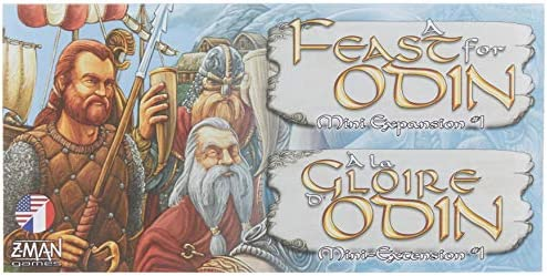 A Feast For Odin Board Game Mini Expansion #2 Z-Man Games SEALED NIB