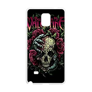 Bullet For My Valentine Samsung Galaxy Note 4 Cell Phone Case White WON6189218966514