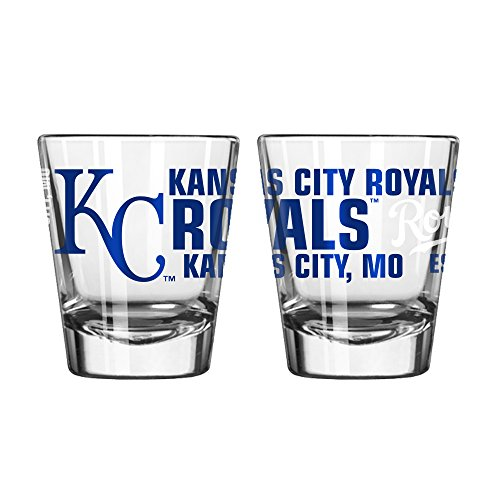 (Kansas City Royals Spirit Shot Glass 2 oz. (2 Pack))