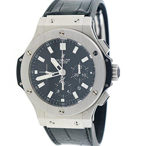 Hublot-Big-Bang-Evolution-44MM-Black-Dial-Chronograph-Steel-Watch-301SX1170RX