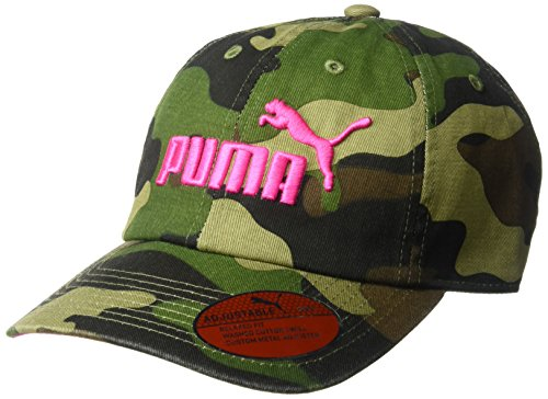 PUMA Women's Evercat #1 Adjustable Cap, camo/Pink, OS