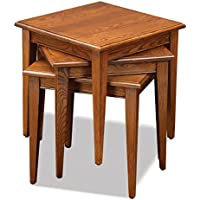 Leick Furniture Stacking Set, Medium Oak