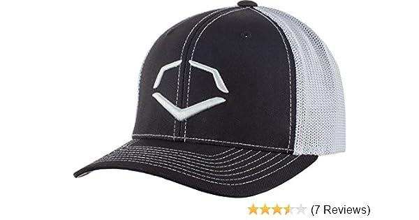 61c133f3 Amazon.com: Wilson Sporting Goods Evoshield Steed Stripe Mesh Flexfit Hat,  Black/Grey, Large/X-Large(7 3/8-7 5/8): Sports & Outdoors
