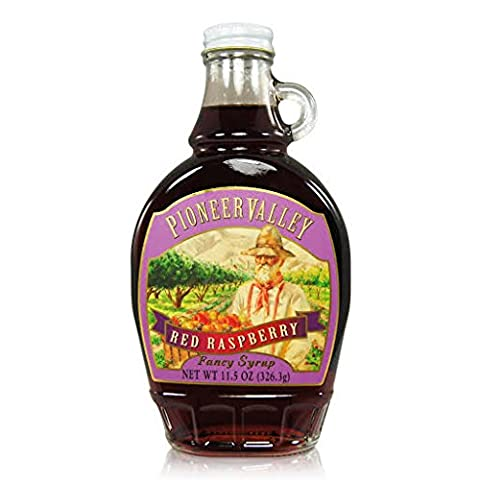 Pioneer Valley Gourmet Red Raspberry Syrup - Pantry Raspberry