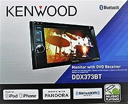 Kenwood DDX373BT Double Din Monitor In-Dash Bluetooth DVD Receiver