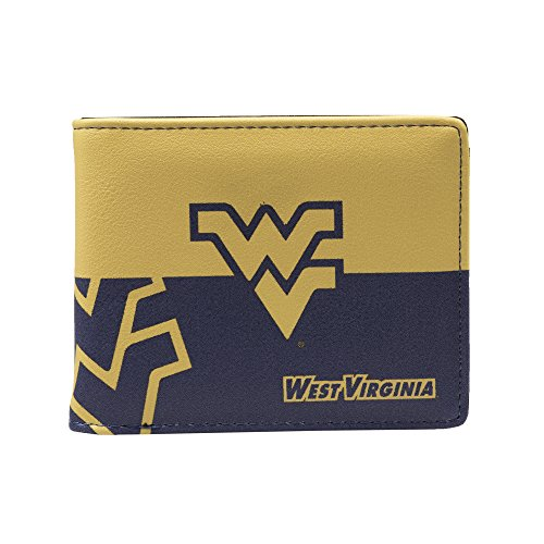 - NCAA West Virginia Mountaineers Bi-fold Wallet